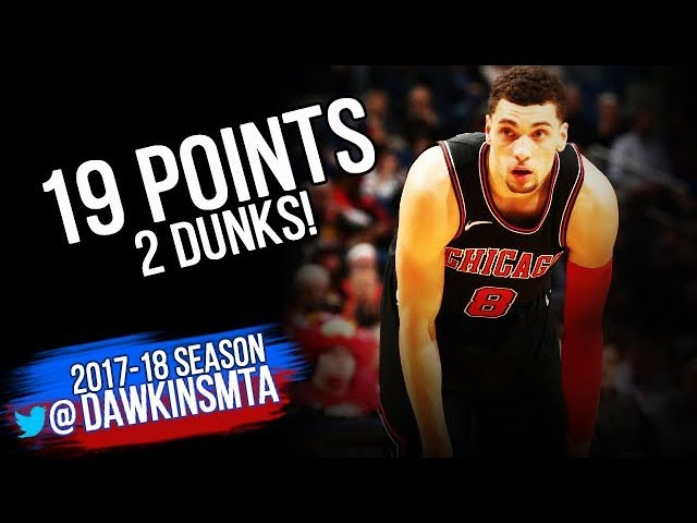 Zach LaVine Full Highlights 2018.01.22 at Pelicans - 19 Pts, 2 Dunks in 24 Mins!
