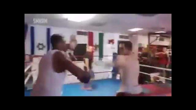 Cara covarde bate nos fracos mas no final do vídeo aprende a lição