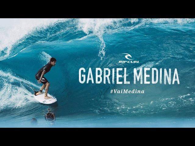 Gabriel Medina | Pipeline 2017 | VaiMedina