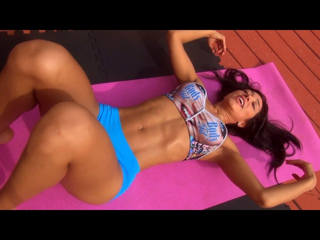WOW!...Girls Sexy Ab Workout!