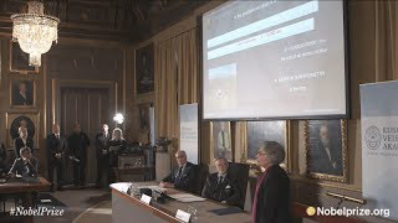 Announcement of the Nobel Prize in Physics 2017