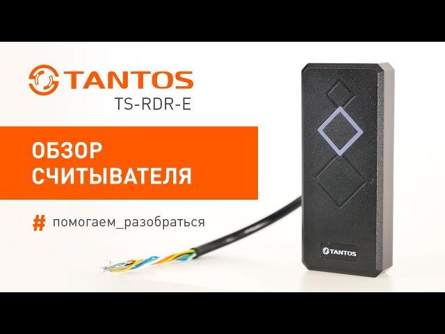 Обзор считывателя Tantos TS-RDR-E