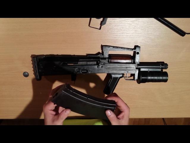 OTs-14 Groza AEG review [HUN]