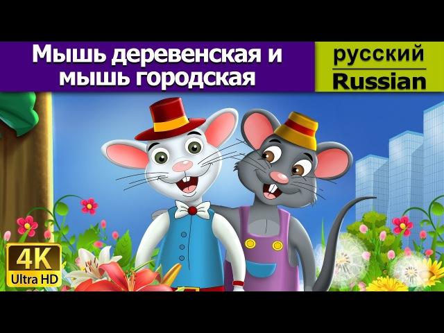 Мышь деревенская и мышь городская - Сказка - Детская сказка на ночь - Russian Fairy Tales