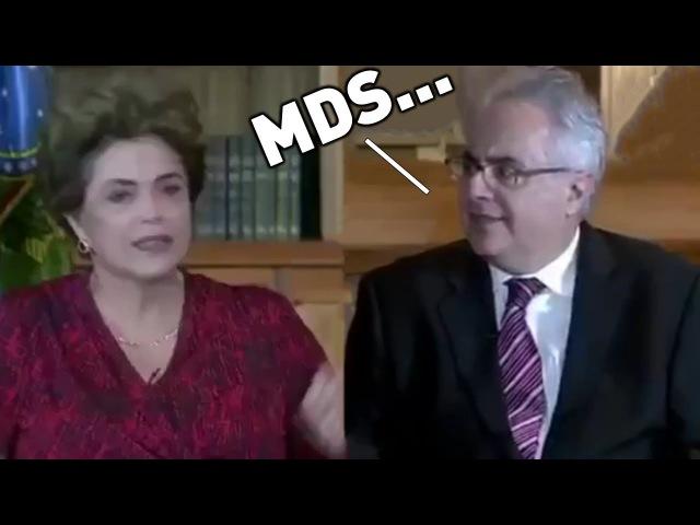 Olha a pérola que a Dilma soltou durante entrevista - TENTE NÃO RIR