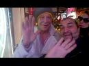 Mickey Rourke a Roma per Music su Canale 5 saluta i fan