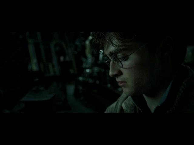 Гарри Поттер и Дары Смерти:Часть 2.Поиск крестража в выручай-комнате.Диалог с Мал...