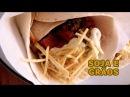Tortilhas de chouriço de soja e grãos de bico