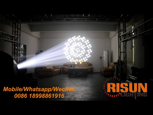 350W moving head beam light for events, parties, stage, clubs, performance and rental use.