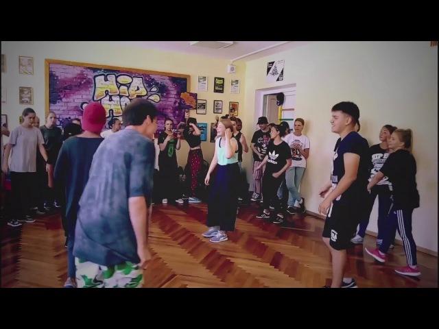 Yalta Summer Jam 2016 - Locking Workshop