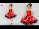 Шьем платье с подъюбником из фатина для Куклы Барби