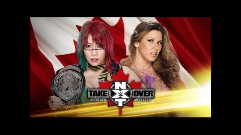 NXT'S Asuka Vs Mickie James NXT Takeover Toronto (FULL MATCH) W Commentary