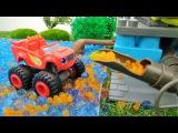 Игры для мальчиков. Видео для детей про машинки! 🚗 #Вспыш и Зэг купаются, а #Круши...