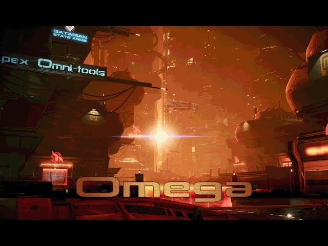 Mass Effect 3 - Omega Streets (1 Hour of Ambience)