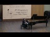 Prokofiev: Piano sonata #2 in D minor, op.14, mov.1 - Elizaveta Karaulova,
