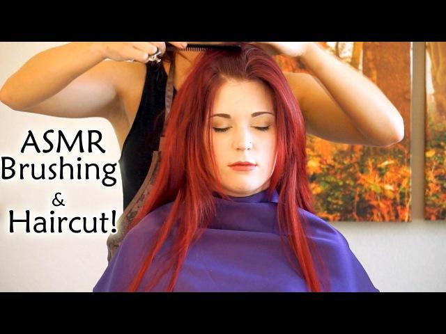💇 Real ASMR Haircut Binaural 2, 3D Scissors Clippers Sounds Softly Spoken, Beyond RolePlay | АСМР, ролевая игра, настоящая стрижка, тихая, мягкая, спокойная речь, звуки ножниц