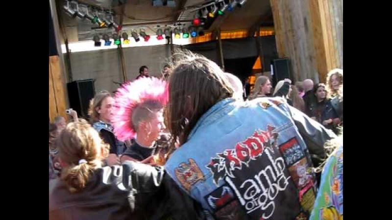 Excrementory Grindfuckers Bisschen Grindcore live @ Occultfest 2009