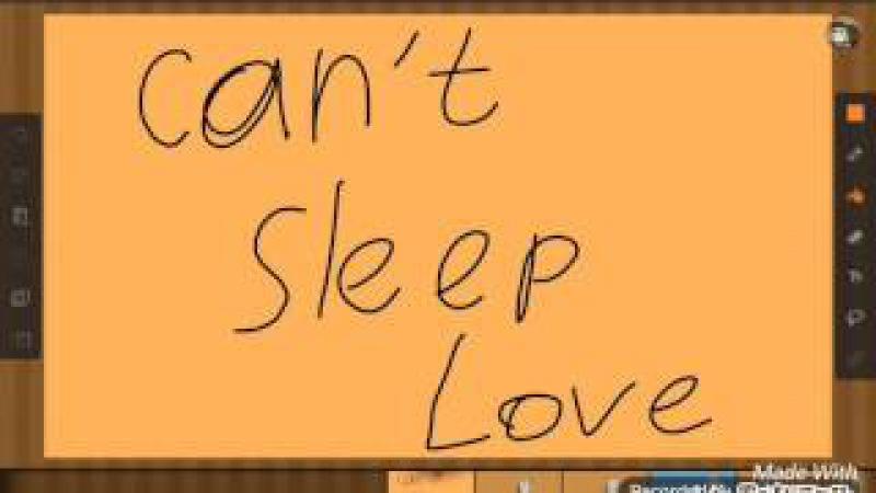 Can't sleep love meme