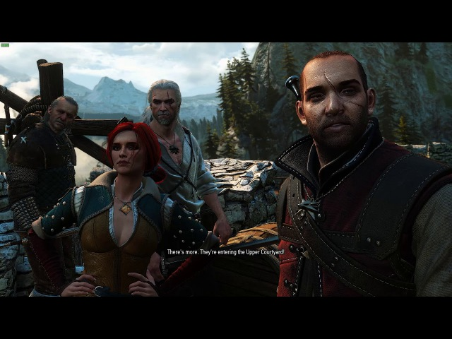 Witcher 1 Prologue Remastered - full gameplay (witcher 3 mod)