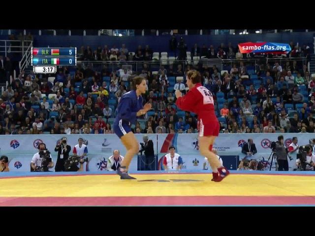 Sambo MATSKO (BLR) - PERIN (ITA) World Champioships 2017