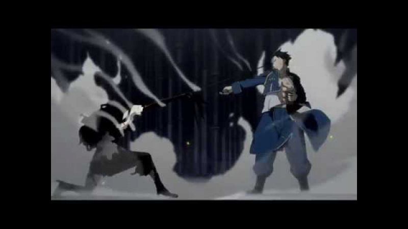 FMA Brotherhood Roy Mustang vs. Lust cz sub