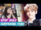 [K-POP] IDOLS SURPRISING FANS (EXO, Twice, Exid, Redvelvet, PSY etc.)