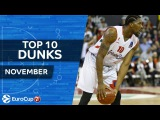 7DAYS EuroCup, Top 10 Dunks, November