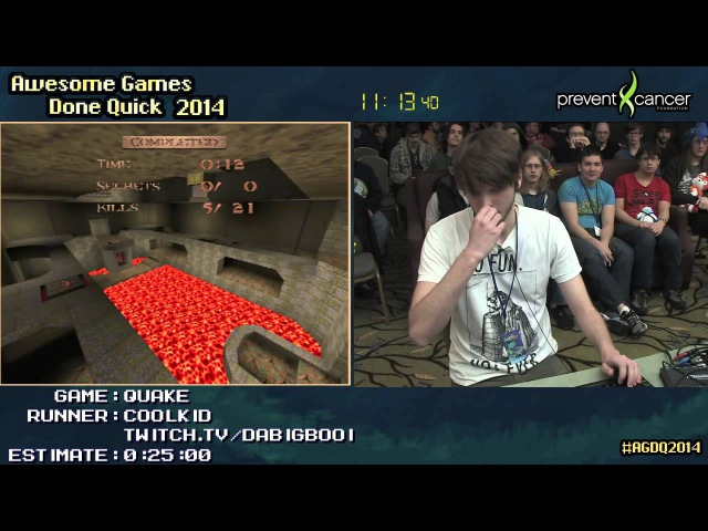 Quake SPEED RUN (01750) [PC] Live by Coolkid AGDQ 2014