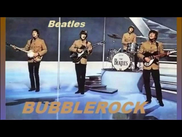Beatles - Babys In Black - ( Colorized Sepia ) - NME Awards Live 1965 - Bubblerock Video - HD