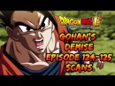 Gohan's Demise Dragon Ball Super Episode 124 and 125 TV Scans