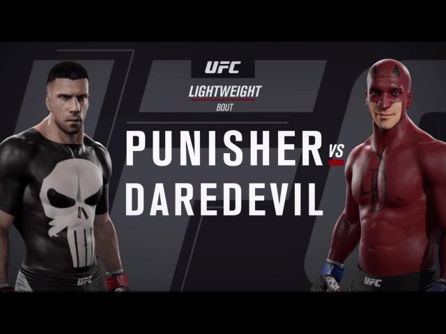 Каратель и Сорвиголова (EA Sports UFC 2)
