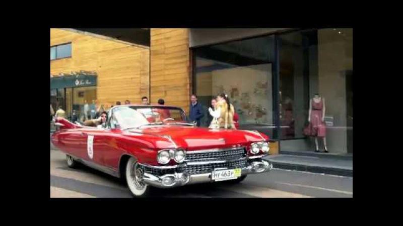 Мы снимали промо видео на мероприятии в Барвихе Chopard Classic Weekend Rally