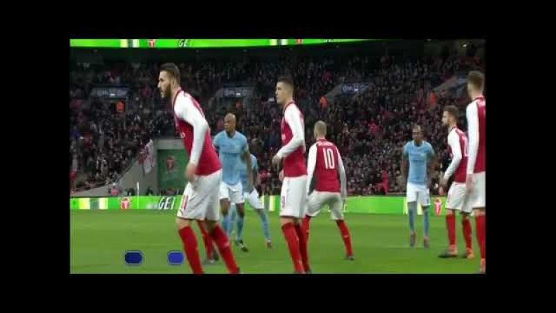 Арсенал 0–3 Манчестер Сити. Кубок лиги. Финал. 25.02.2018