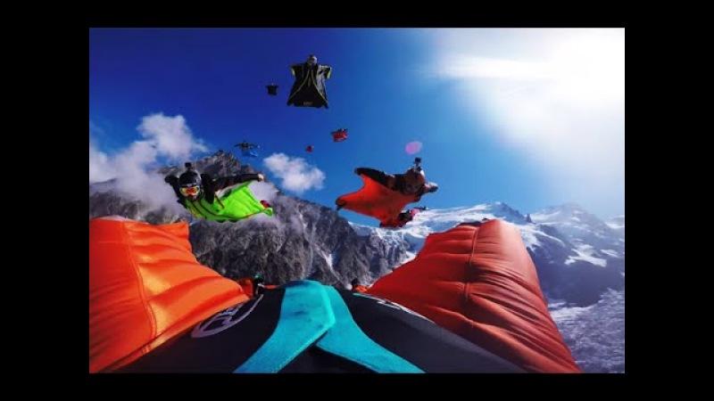 BEST OF WINGSUIT PROXIMITY FLYING 2017