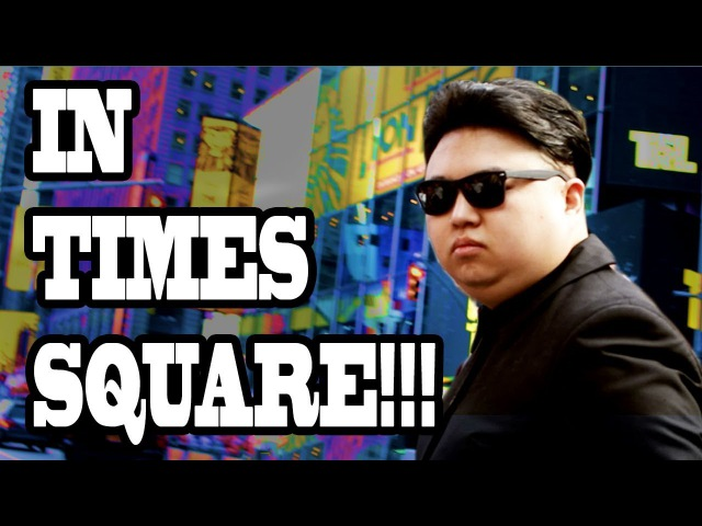 Fake Kim Jong Un Pranks New York City Times Square!! (10 Hours of Walking - Part 3)