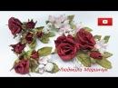Розы из зефирного фоамірану марсала Trojan with your hands