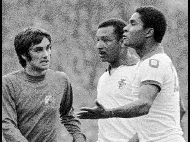 George Best VS Eusébio – Manchester United x Benfica (1968)