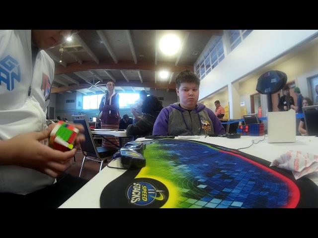 6x6 Rubik's Cube World Record Single 1 19 60
