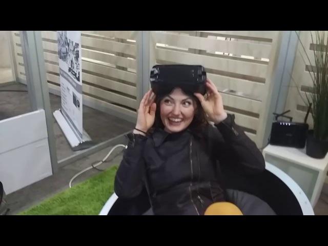Симулятор движений Yaw VR на CES 2018