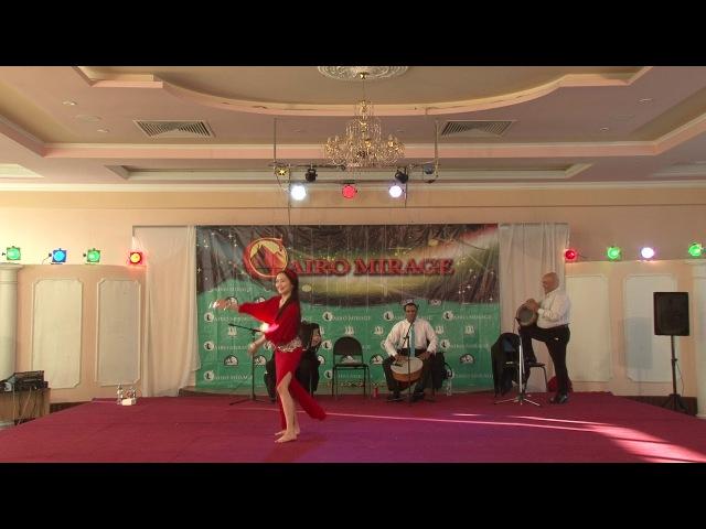 Nerkes, baladi tabla 2 place, Cairo Mirage 2018, BellyDance