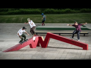 VIP: Magenta Skateboards at Woodward PA
