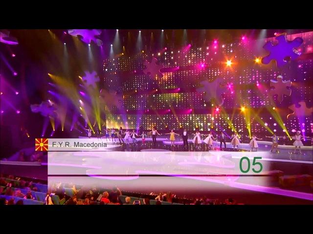 Jesc 2013: group song -