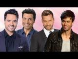 Chayanne, Ricky Martin, Luis Fonsi, Enrique Iglesias EXITOS Sus Mejores Canciones