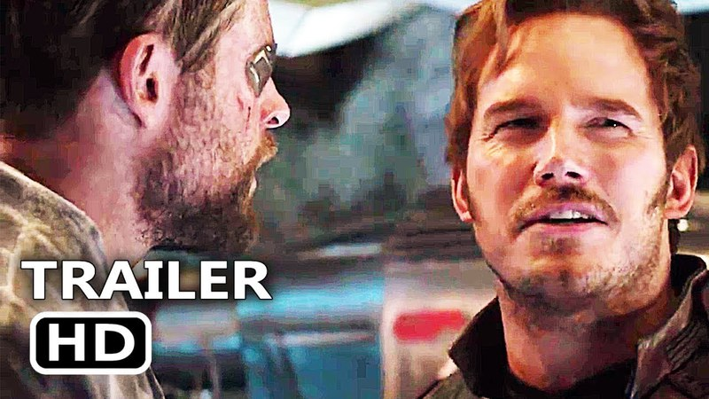 AVENGERS INFINITY WAR Star Lord vs Thor Trailer NEW (2018) Marvel Superhero Movie HD
