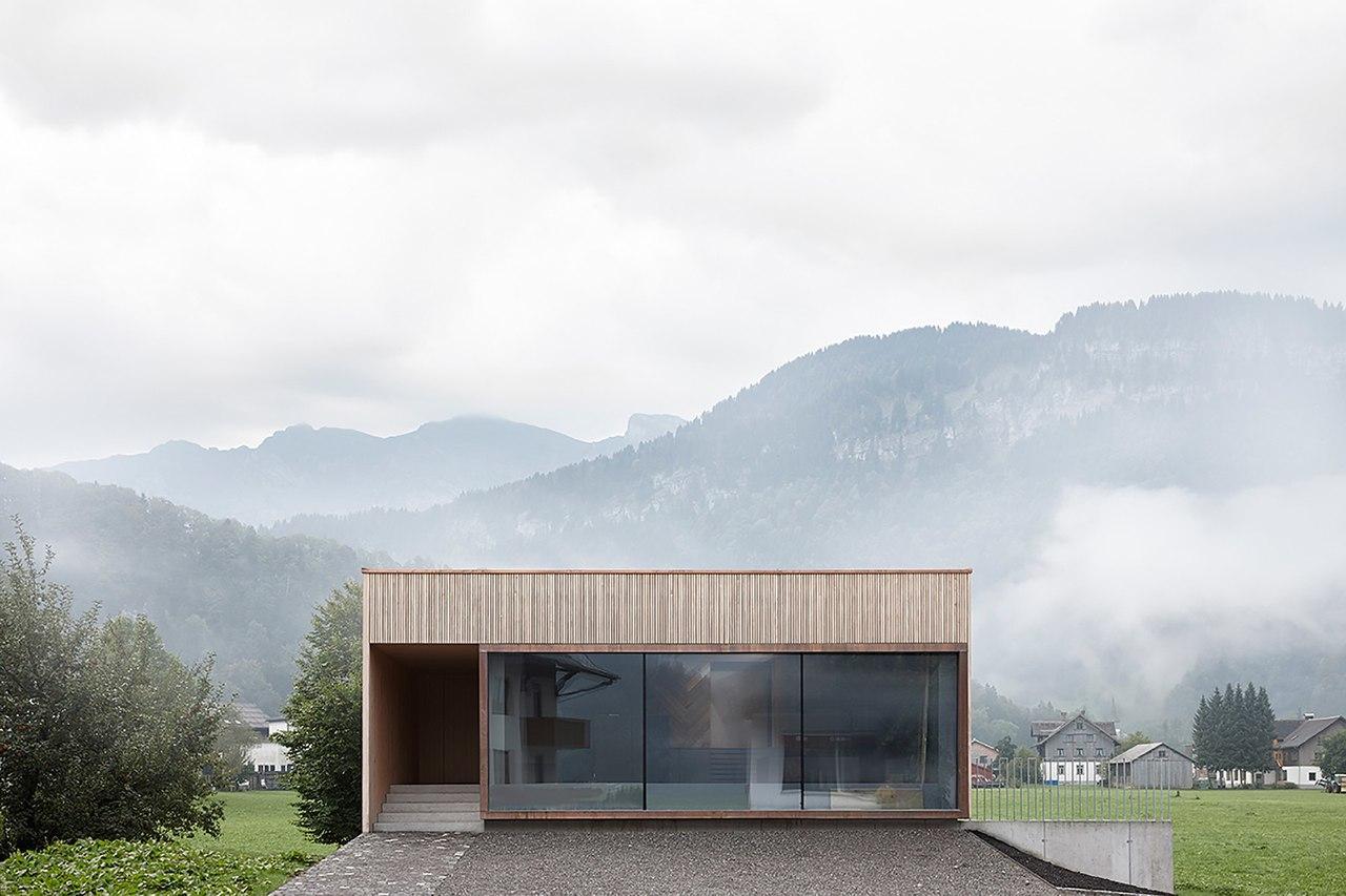 House with Showroom  ao-architekten   Markus Innauer