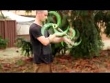 Mickey Khoury Dragonstaff - NEW 'Razed In Flames' spiral spokes
