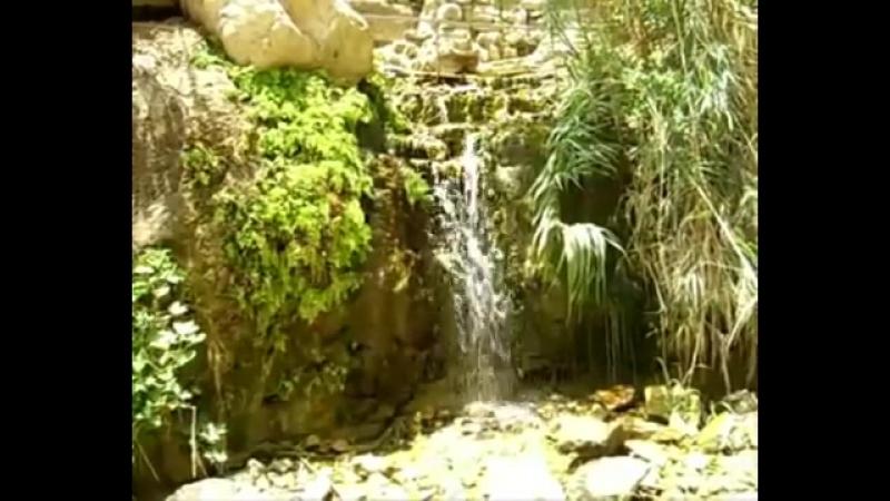 Водопады и ручьи оазиса Эйн-Геди