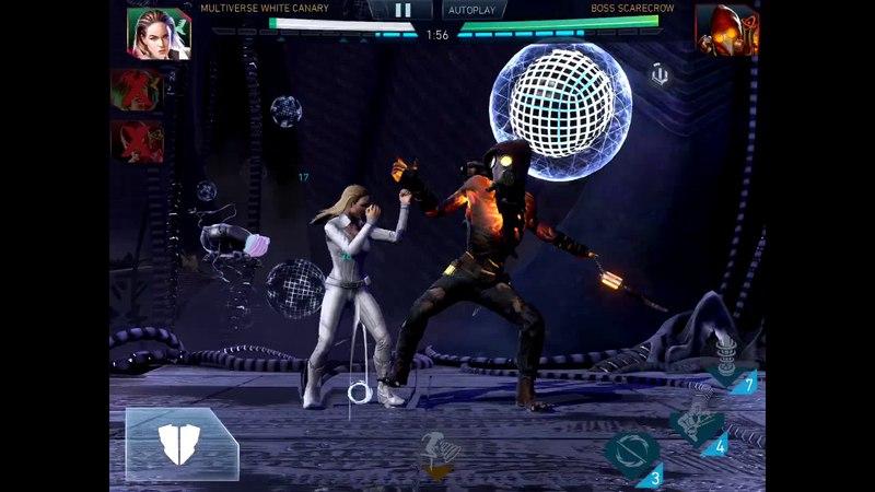 Injustice 2 Mobile Raid 6 - White Canary VS Scarecrow 1.6m