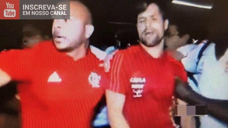 PROTESTO da Torcida do Flamengo! Diego Alves AGRIDE torcedor