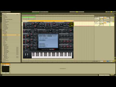 How To Make A Supersaw in Synapse Audio Dune(Free Preset Download)